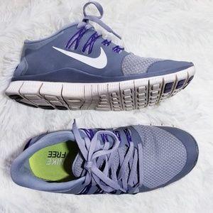 Nike Free 5.0 Sneakers, Gray